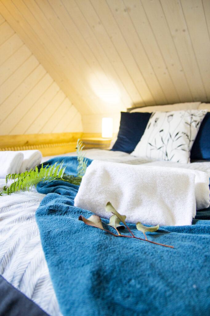 Sypialnia nr 3 na górze -Łóżko małżeńskie