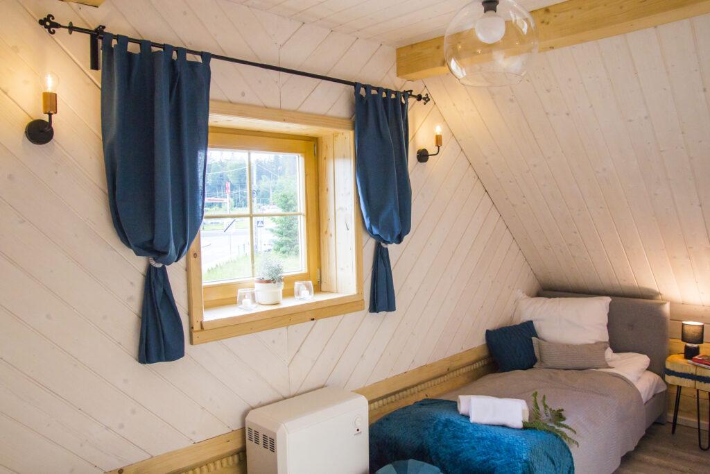 Sypialnia nr 3 na górze - dwa łóżka podwójne