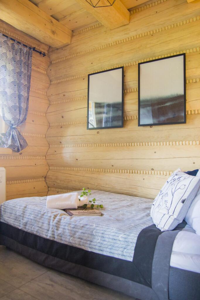 Sypialnia nr 1 łóżko 2 osobowe